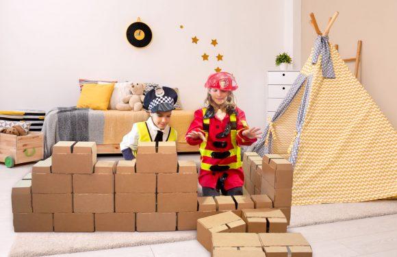 ¿Por qué juguetes de cartón?