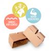 bloques de cartón ecológicos